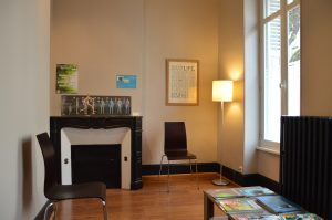 salle d'attente charles golfier osteopathe limoges